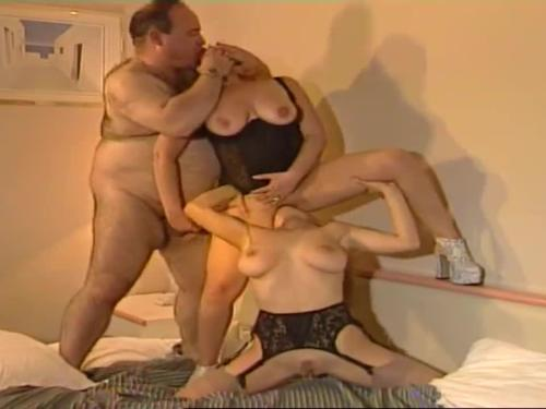 Having sex with a fat man